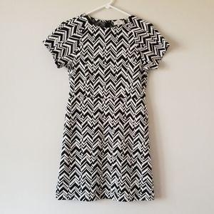 Liz Claiborne Black & White Dress
